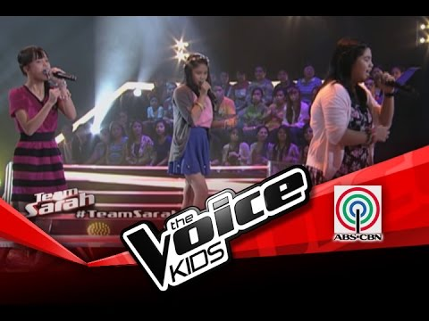 "The Voice Kids Philippines Battles ""A Thousand Miles"" by Musika, Gab, and Mitz"