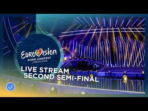 Eurovision Song Contest 2018 - Second Semi-Final - Live Stream (видео)