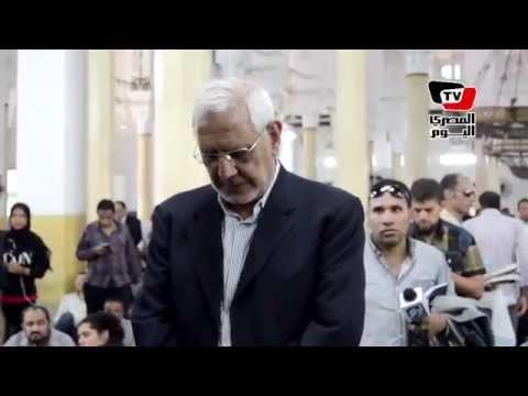 أبو الفتوح وخالد علي يتقدمان جنازة أحمد سيف الإسلام