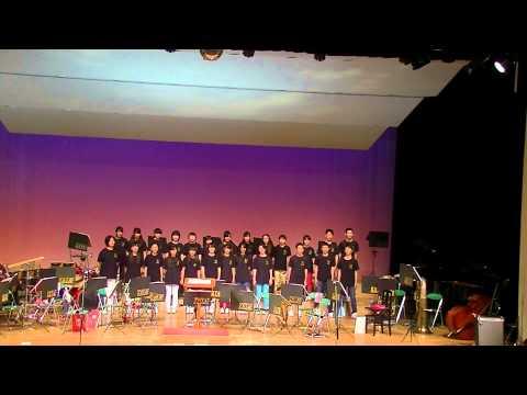 片江中学校 吹奏楽部 演奏会 2014年4月 3/4