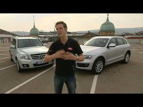 auto motor und sport-TV: Audi Q5 vs Mercedes GLK