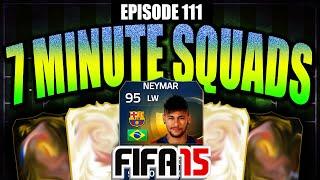 TOTS NEYMAR 7 MINUTE SQUAD BUILDER W/ LA5TY!! #EP111 - FIFA 15 ULTIMATE TEAM!!, neymar, neymar Barcelona,  Barcelona, chung ket cup c1, Barcelona juventus