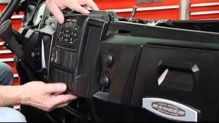 7. Polaris Ranger Dash Mounted Audio Kit Installation (Installation Highlights)