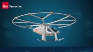 Flying Taxi in Dubai (Driverless Air Taxi) - Autonomous Transportation