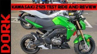 9. Kawasaki Z125 Review: Test Ride and First Impressions + Kawasaki Z125 vs Honda Grom