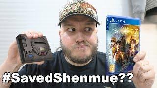 #ShenmueSaved ¿SEGA SALVA SHENMUE? + MEGADRIVE MINI ANUNCIADA