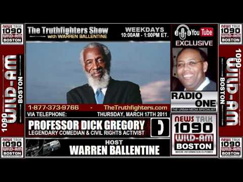 Warren Ballentine Show - The Professor Dick Gregory 03.17.2011 (Part 2 of 2)
