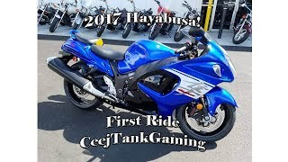 10. 2017 Hayabusa First Ride V-Log!