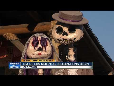 Dia de Los Muertos celebrations kick off in San Diego