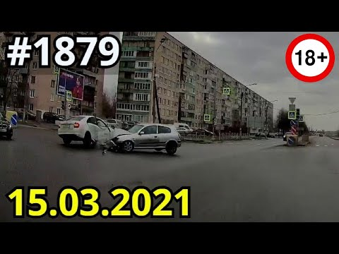 Новая подборка ДТП и аварий от канала Дорожные войны за 15.03.2021