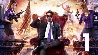 Saints Row 4 Gameplay Walkthrough Part 1 - Zero Saints Thirty X360 PC PS3 Commentary