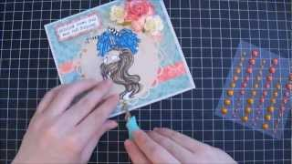 Handmade Cake Box and Card - Start to Finish Tutorial