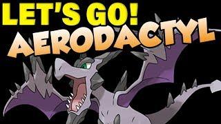 AERODACTYL IS DANGEROUS! Pokemon Let's Go Aerodactyl Moveset by Verlisify