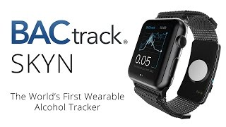 Worlds 1st Wearable Alcohol Monitor