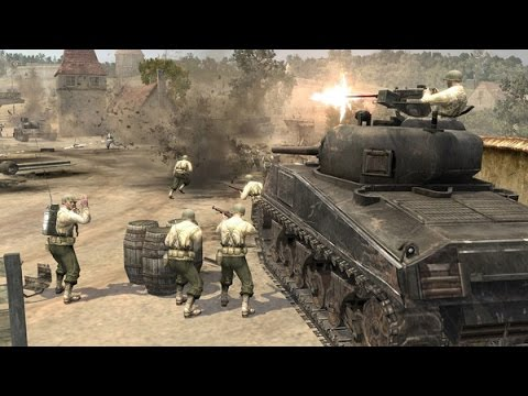 Company of heroes Tales of valor 1vs1 Automatch. Panzer Elite vs British #1