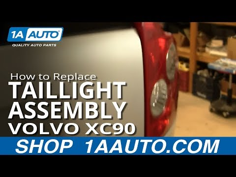 How To Install Replace Taillight and Bulb Volvo XC90 03-12 1AAuto.com