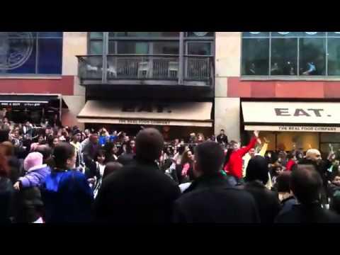 Bullring Birmingham -Morniye- (Foji Pumbeeri)  By kashmirians Yasir shahzad butt (видео)