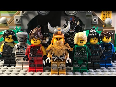 LEGO Ninjago Movie: Rise Of The Golden Samurai