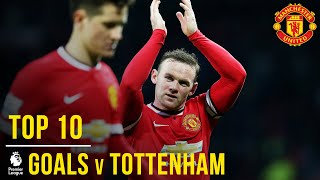 Video Top 10 Manchester United Premier League goals v Spurs | Manchester United MP3, 3GP, MP4, WEBM, AVI, FLV Agustus 2019