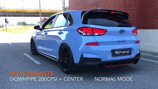 Hyundai i30N Exhaust | RCP Exhausts | Downpipe + Soundpipe