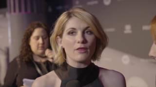 Jodie Whattaker interviewed at the 2016 BIFA ceremony