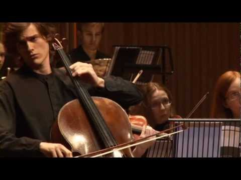 Finals National Cello Competition - Elgar 1th movement - Jonathan Butler