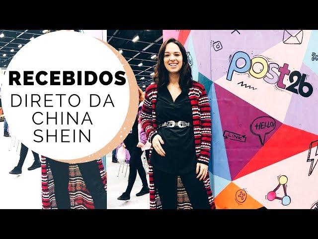RECEBIDOS DA CHINA INVERNO 2018 | MARI FLOR - Closet da Mari