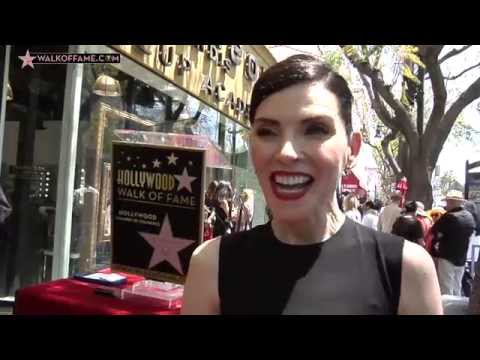 Julianna Margulies Walk of Fame Ceremony