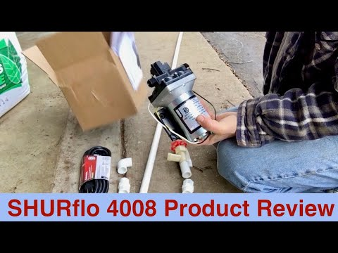 SHURflo 4008 Product Review
