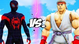 Download Video Spider-Man (Miles Morales) vs Ryu (Street Fighter) MP3 3GP MP4