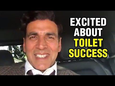 Akshay Kumar SUPER DUPER REACTION On Toilet Ek Pre