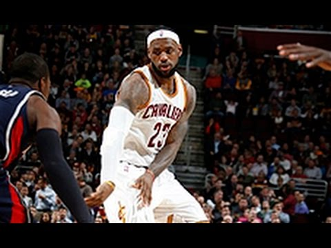 Lebron James with the Crafty Crossover