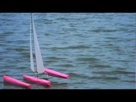 ST65 Race Trimaran - Maiden Voyage