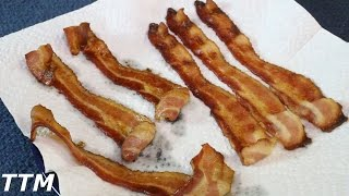 Does bacon taste better baked in a cast iron skillet? Watch this easy cooking video and find out which oven baked bacon is best. For more easy cooking and ...
