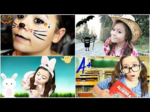 Costumes - THUMBS UP for more HALLOWEEN VIDEOS!❁•∙ I hope you enjoyed! I LOVE YOU!♥ Check out my last video: http://www.youtube.com/watch?v=9_6txuBJNaU&feature=c4-ov...