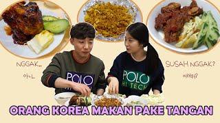 Video ORANG KOREA MAKAN MAKANAN INDONESIA PAKE TANGAN!?손으로 인도네시아 음식 먹기! MP3, 3GP, MP4, WEBM, AVI, FLV April 2019