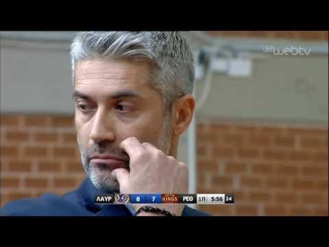 Basket League 2018-2019: ΛΑΥΡΙΟ – ΡΕΘΥΜΝΟ 93 – 94 | 26/1/2019 | ΕΡΤ