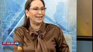 Entrevista a la directora de Pasaportes, Aura Toribio en Enfoque Matinal