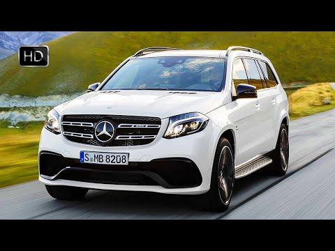 2017 Mercedes-Benz AMG GLS 63 4MATIC SUV V8 585 HP Biturbo Engine Test Drive HD
