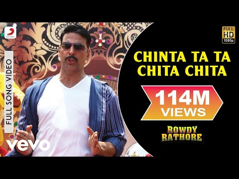 Chinta Ta Ta Chita Chita Full Video - Rowdy Rathore|Akshay,Kareena|Mika Singh|Sajid Wajid