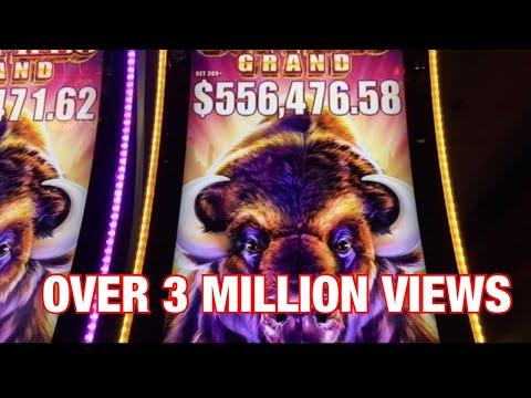 Buffalo Grand Slot Super Jackpot Handpay -Biggest Buffalo Win on YouTube –