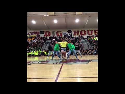MUST WATCH ! Cardi B's Bartier Cardi Makes High School Dance Rally so Hype