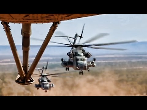 The CH-53 Super Stallion is the...