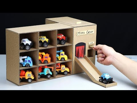 How to Make Vending Machine with Toy Cars