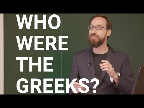 Who were the Greeks? - Ancient History undergraduate taster lecture