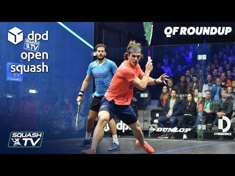 Squash: DPD Open 2019 - Men's QF Roundup