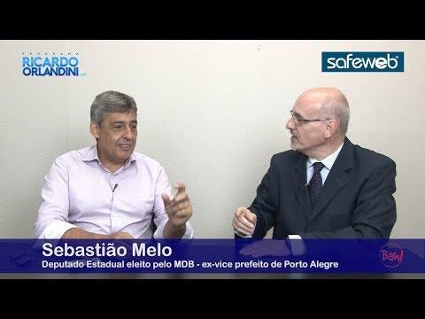 Eleições e política com o ex-vereador, vice-prefeito e atual deputado estadual eleito (MDB) Sebastião Melo - Ricardo Orlandini.net