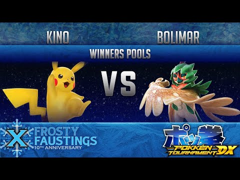 FFX - POKKEN DX WINNERS POOLS - Elevate | Kino (Pikachu) vs squaa | Bolimar (Decidueye)