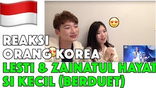 Video Orang Korea Reaksi LESTI & ZAINATUL HAYAT (INA) Berduet di DA Asia 4 Reaction MP3, 3GP, MP4, WEBM, AVI, FLV Januari 2019