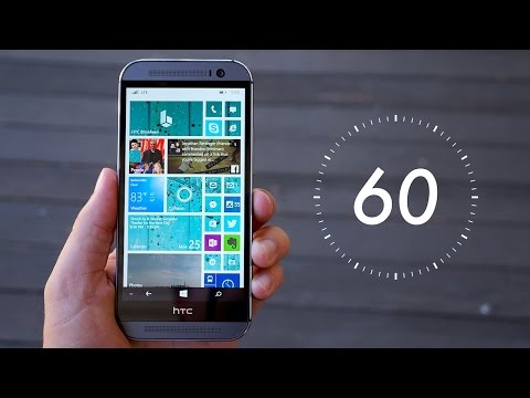 second - Learn more about the HTC One M8 for Windows. See our full review at Pocketnow! http://pocketnow.com/2014/08/26/htc-one-m8-for-windows-review There are folks out there who don't have the...